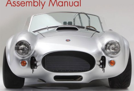 Reading the Factory Five Roadster Complete Build Manual