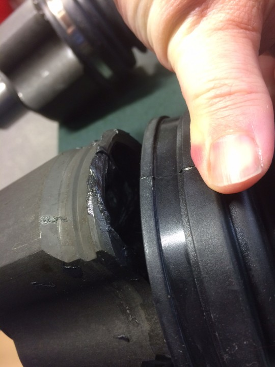 My CV Joint Lobe recessed correctly