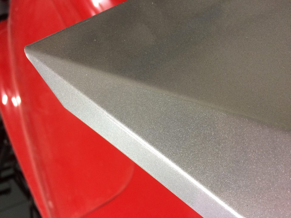 powdercoated powder-coated aluminum panel