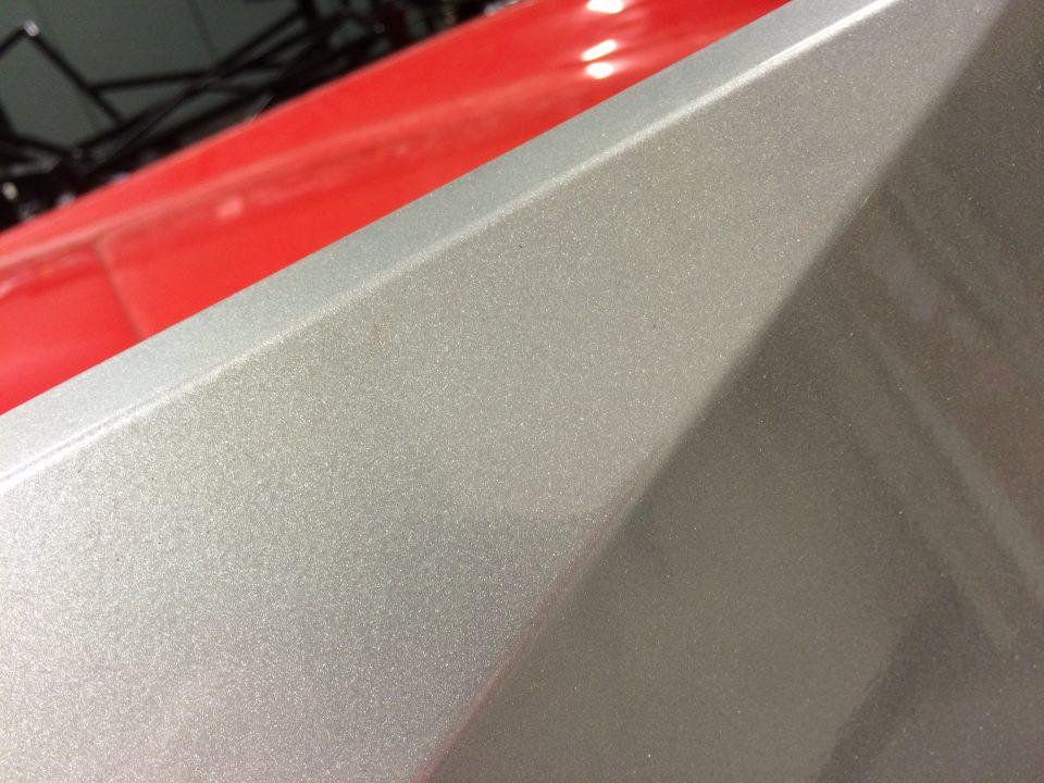 powdercoated powder-coated aluminum panel