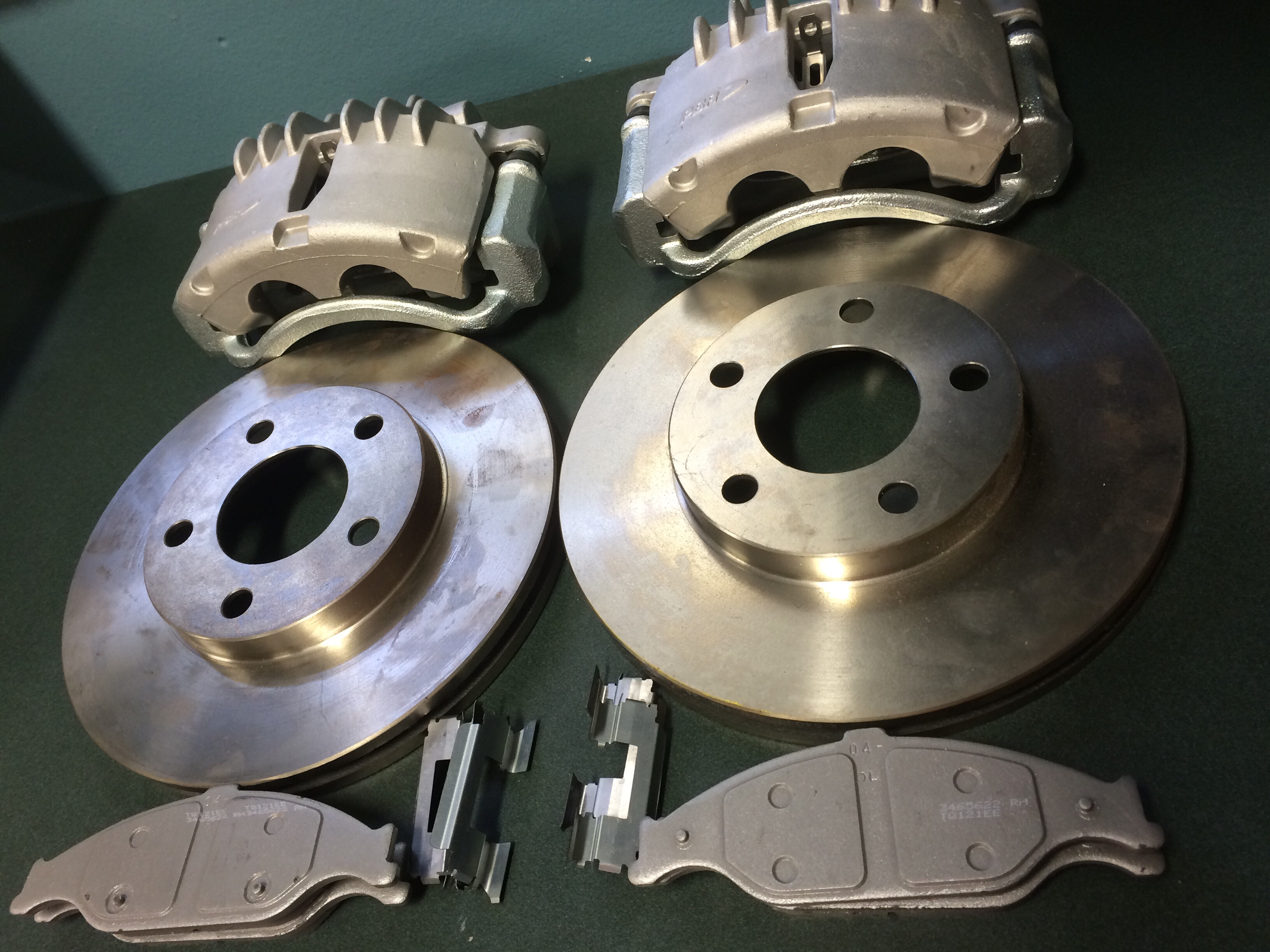 Cobra Mustang Front Brakes Sold